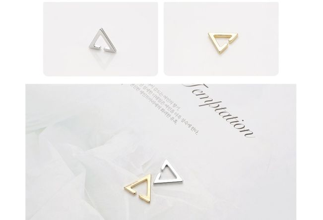 BTS [ACC] BTS Simple Triangle Ear Cuff 3 aa82